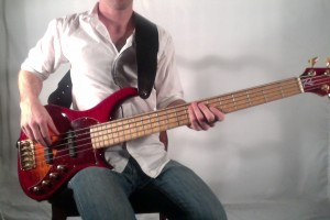 How To Hold A Bass Guitar
