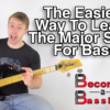 bass lesson major scale